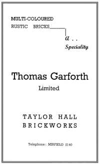 Garforths Bricks