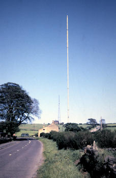 Old Emley Moor TV mast