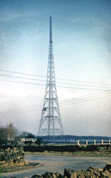 Original Emley Moor TV mast