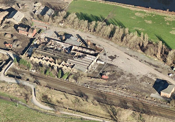 Engine Shed aerial View
