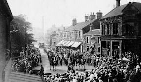 Mirfield parade about 1920