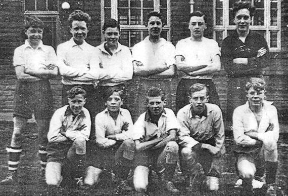 Bronte Junior Football Team 1958