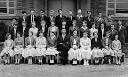 Mirfield Modern School 1957
