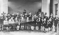 Recorder Players in the main Hall 1951
