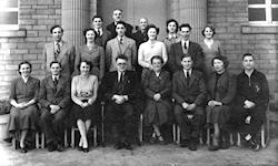Mirfield Modern School Staff Photo 1953