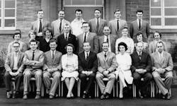 Mirfield Modern School Staff Photo 1962-63
